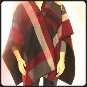 Reversible Tartan Plaid Wrap